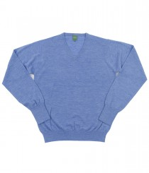 Super Fine Cashmere V-Neck Sweater