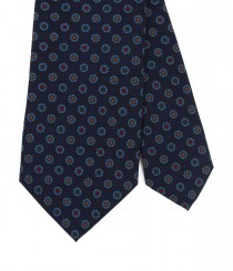 Drakes Silk Print Tie