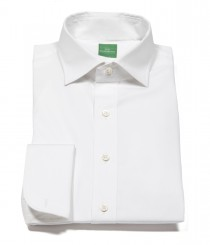 French Cuff Spread Collar Dress Shirt