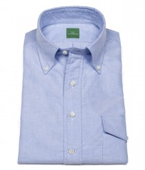 Short-Sleeved Popover Shirt