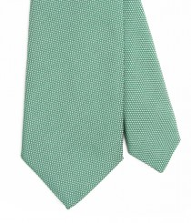Two-Tone Silk Grenadine Tie
