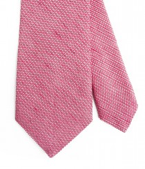 Two-Tone Silk/Linen Grenadine Tie