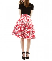 Box-Pleat Skirt